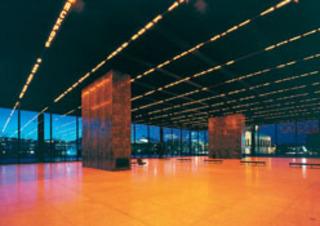 Installation for the Neue Nationalgalerie, Jenny Holzer