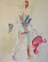 Standing Nude, Christine Heanen