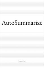 AutoSummarize, Jason Huff