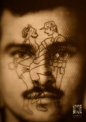 Tatuajes de la Memoria (Tattoos of Memory, detail), Victor Cartagena