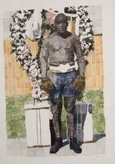 """Victory Wreath"",Richard Yarde"