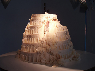 Babel Fat Tower,Raul Ortega Ayala
