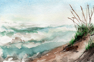 Rough Seas - 1st Place Seascapes, Linda Lowery