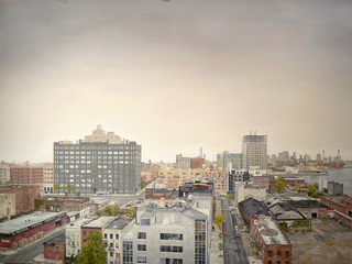 View South from the Williamsburg Bridge ,Christopher Murphy
