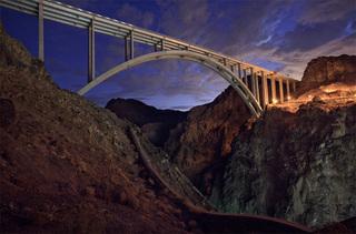Bridge at the Hoover Dam, Jamey Stillings