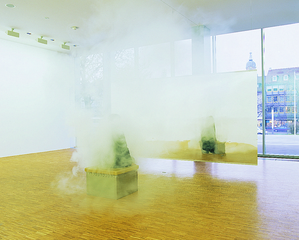 Smoking Bench, Jeppe Hein