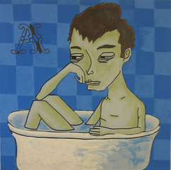 Man in Tub, Daniel Caspera
