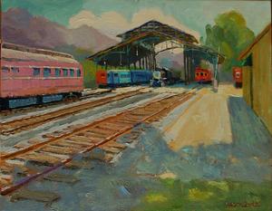 Dick_heimboldthe_old_trains_14x18