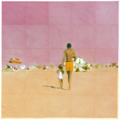 A Walk With Daddy (Pink) , Isca Greenfield-Sanders