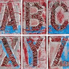 Alphabet, Mark Bradford