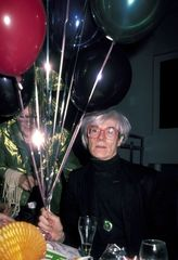 Andy Warhol Sighting in New York City, Ron Galella