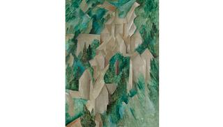 La Roche-Guyon: le château, Georges Braque
