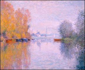 Autumn on the Seine, Argenteuil, Claude Monet