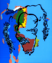 Shrunken Head #3, D. Dominick Lombardi
