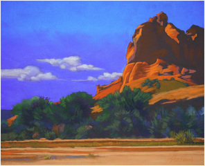 """Summer Sky, Canyon de Chelly"" , Mary Silverwood"