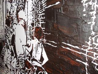 Alley Kids - closeup view, Lucinda Luvaas