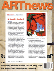 ARTnews review, D. Dominick Lombardi