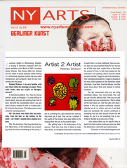 NYARTSmagazine, D. Dominick Lombardi