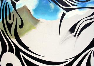 Tattooed Landscape #6, D. Dominick Lombardi
