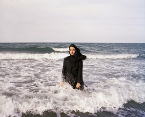 My Superhero 3, from the series Listen , Newsha Tavakolian
