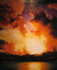 Stormclouds at sunset, Brian Cowan