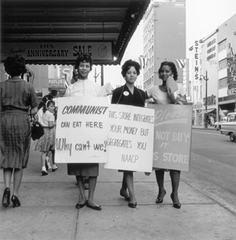 NAACP Protest, Main St., Memphis, TN,Ernest Withers