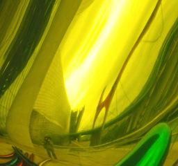 Sucker (Chartreuse) detail, Elizabeth Sher