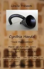 Installation view , Cynthia Handel