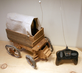 Remote Control Covered Wagon, John Bucklin