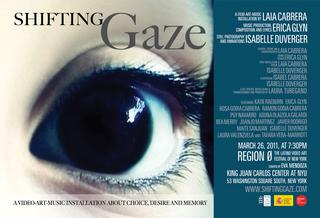 Shifting Gaze, Laia Cabrera, Erica Glyn, Isabelle Duverger