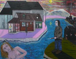 L\'ombre ou la lune et les feux, Eric Corne