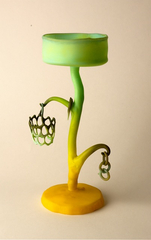 Yellow Green Goblet,Jay Musler