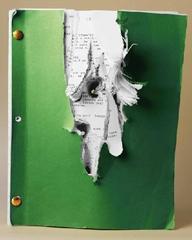 Plot Holes #4: Shattered Silence, Edition of 10, Tom Benedek