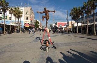 Snake Charmer, Venice Beach, CA , John Humble