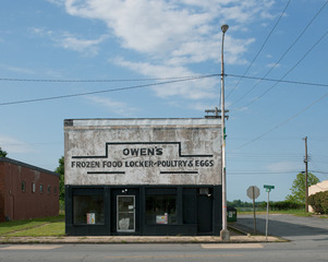 Owens\' Frozen Food Locker, Pine Bluff, Arkansas , John Humble