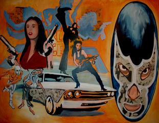 Charlies Angels & Blue Demon, Ray Vasquez