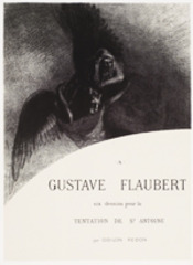 To Gustave Flaubert—The Temptation of Saint Anthony,Odilon Redon