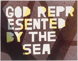 GOD IS REPRESENTED BY THE SEA, Mark Booth