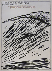 No Title (This is where), Raymond Pettibon
