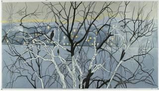 December Hudson River, Ursula Schneider