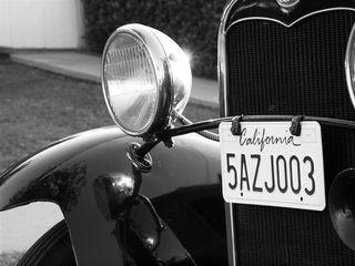 1931 Ford Headlight, Jerry Hicks