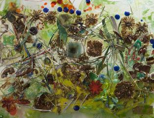 Scrap Garden, detail, Robin M Jordan