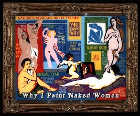 Why I Paint Naked Women, Clay Sinclair