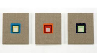 Swatches, Albers 1-3, Elaine Reichek