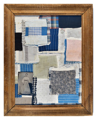 Deconstructed Quilt Pieces #1, Keliy Anderson-Staley
