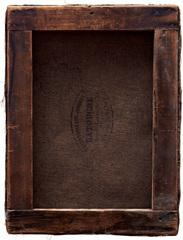 """Verso """"Paysage,"""" Henri Rouart, collection particuliere, Paris, Philippe Gronon"""