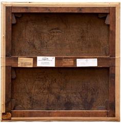 """Verso """"Le Calvaire, Berthe Morisot, collection particuliere, Paris"""", Philippe Gronon"""
