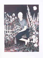 The Albino in the Moonlight Garden, Hernan Bas