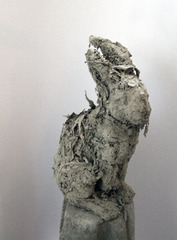 "Assessment view of the ""Hare"" (JW06-#069) found in Wagenbach\'s White Cube room.,Iris Häussler"