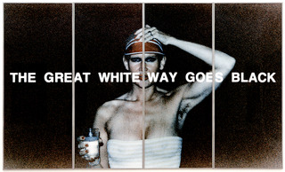 The Great White Way Goes Black IX/77 ,Katharina Sieverding